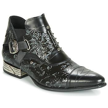 Boty Muži Kotníkové boty New Rock BRAVA Černá