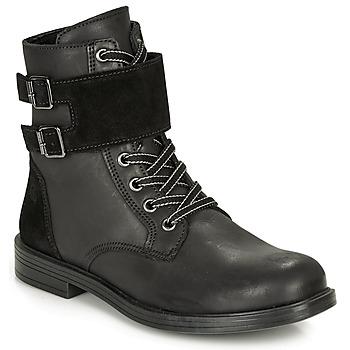Boty Dívčí Kotníkové boty Citrouille et Compagnie LOMENE Černá
