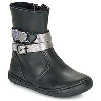 Boty Dívčí Kotníkové boty Citrouille et Compagnie LOMINE Černá