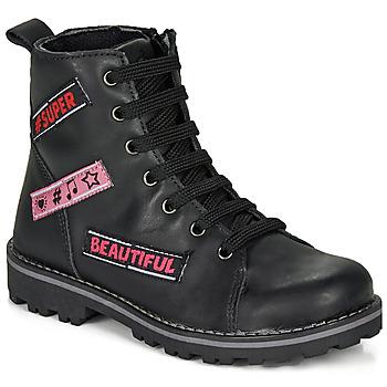 Boty Dívčí Kotníkové boty Citrouille et Compagnie LIBIDOU Černá