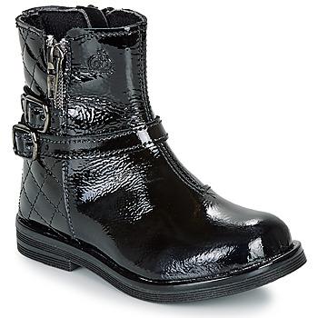 Boty Dívčí Kotníkové boty Citrouille et Compagnie LIMIDOU Černá