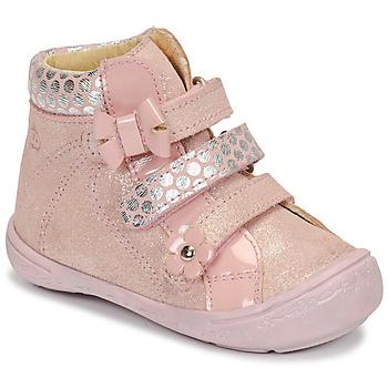 Boty Dívčí Kotníkové boty Citrouille et Compagnie HODIL Růžová