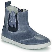 Boty Chlapecké Kotníkové boty Citrouille et Compagnie LESKIMO Modrá