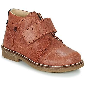 Boty Chlapecké Kotníkové boty Citrouille et Compagnie LAPUPI Hnědá