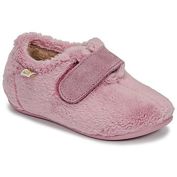 Boty Dívčí Papuče Citrouille et Compagnie LAFINOU Růžová