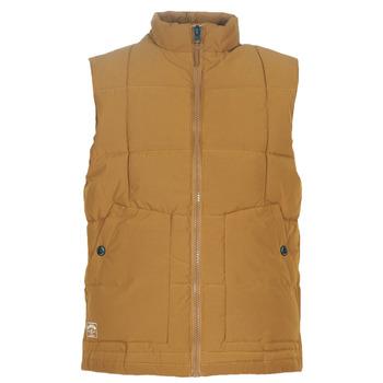 Textil Muži Prošívané bundy Oxbow L2JONBAY Velbloudí hnědá