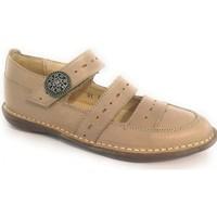 Boty Dívčí Šněrovací polobotky  & Šněrovací společenská obuv Colores 23892-24 Béžová