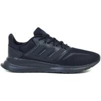 Boty Děti Běžecké / Krosové boty adidas Originals Runfalcon K Černá
