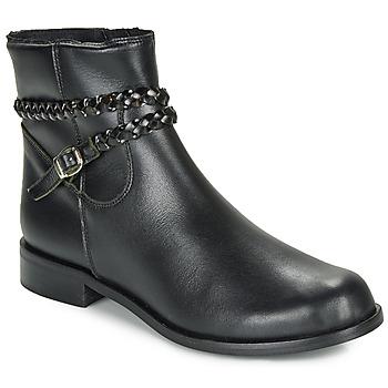 Boty Ženy Kotníkové boty So Size OSCARDO Černá
