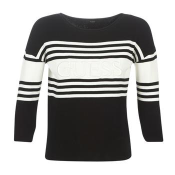 Textil Ženy Svetry Guess VIOLANTE Černá / Bílá