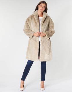 Textil Ženy Kabáty Guess SHELLY Béžová