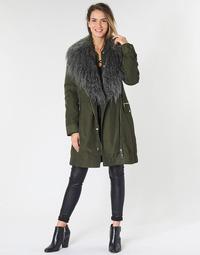 Textil Ženy Parky Guess NEREA Khaki