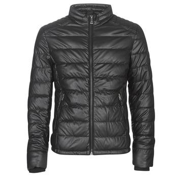 Textil Muži Kožené bundy / imitace kůže Guess STRETCH PU QUILTED Černá