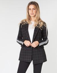 Textil Ženy Kabáty Benetton SUDIDEL Černá