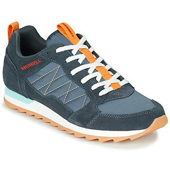 Boty Muži Nízké tenisky Merrell ALPINE SNEAKER Modrá / Oranžová