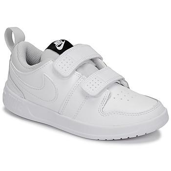 Boty Děti Nízké tenisky Nike PICO 5 PRE-SCHOOL Bílá