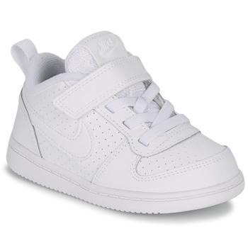 Boty Děti Nízké tenisky Nike PICO 5 TODDLER Bílá