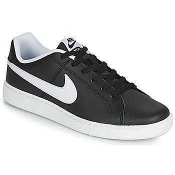 Boty Muži Nízké tenisky Nike COURT ROYALE Černá / Bílá