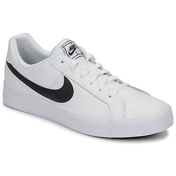 Boty Muži Nízké tenisky Nike COURT ROYALE AC Bílá / Černá