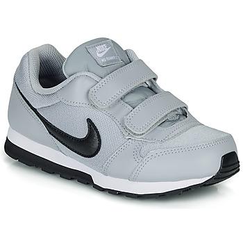 Boty Děti Nízké tenisky Nike MD RUNNER 2 PRE-SCHOOL Šedá / Černá