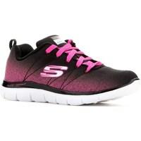 Boty Chlapecké Nízké tenisky Skechers Skech Appeal 20 Černé,Růžové