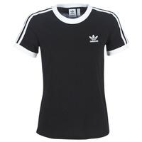 Textil Ženy Trička s krátkým rukávem adidas Originals 3 STR TEE Černá
