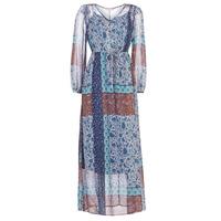 Textil Ženy Společenské šaty Cream SAMA Modrá / Hnědá