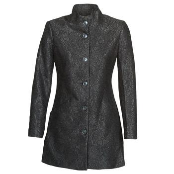Textil Ženy Kabáty Desigual SIMONE Černá