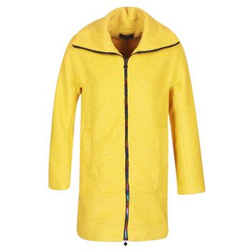 Desigual Kabáty LAND - Žlutá