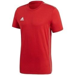 Textil Muži Trička s krátkým rukávem adidas Originals Core 18 Červená
