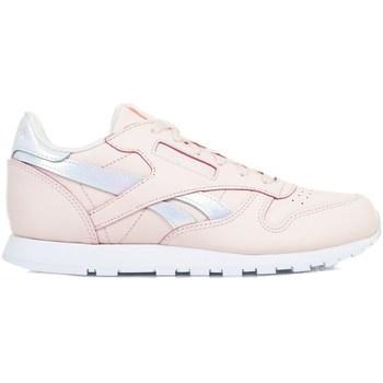Boty Dívčí Nízké tenisky Reebok Sport Classic Leather Růžové