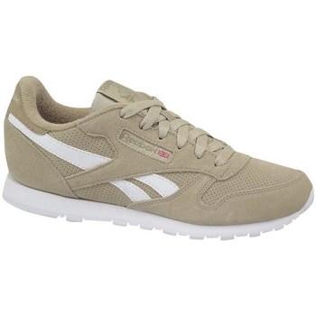 Boty Děti Nízké tenisky Reebok Sport Classic Leather Bílé,Béžové