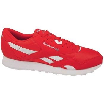 Boty Muži Nízké tenisky Reebok Sport CL Nylon Color Bílé, Červené