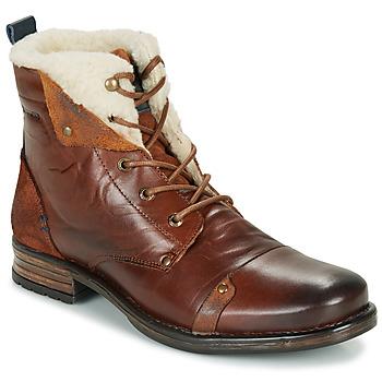 Boty Muži Kotníkové boty Redskins YOUDINE Hnědá