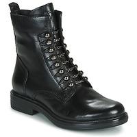 Boty Ženy Kotníkové boty Mjus CAFE STYLE Černá