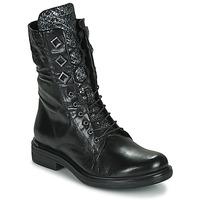 Boty Ženy Kotníkové boty Mjus CAFE METAL Černá