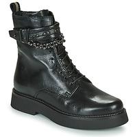 Boty Ženy Kotníkové boty Mjus TRIPLE STRAP Černá