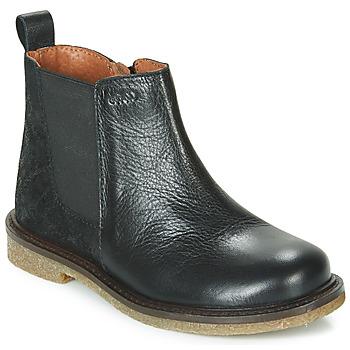 Boty Dívčí Kotníkové boty Aster WAXOU Černá