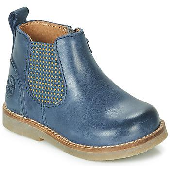 Boty Děti Kotníkové boty Aster STIC Modrá