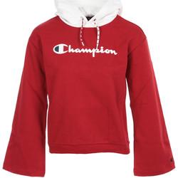 Textil Ženy Mikiny Champion Hooded Sweatshirt Wn's Červená