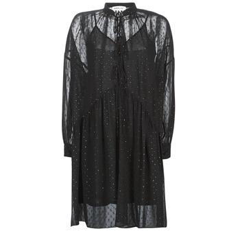 Textil Ženy Krátké šaty Replay W9525-000-83494-098 Černá