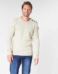 Textil Muži Svetry Schott PLOUTRIDER1 Béžová