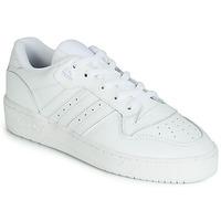 Boty Nízké tenisky adidas Originals RIVALRY LOW Bílá