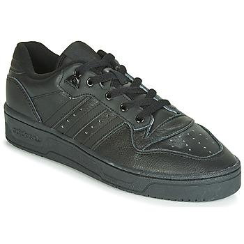 Boty Muži Nízké tenisky adidas Originals RIVALRY LOW Černá