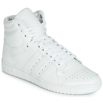 Boty Muži Kotníkové tenisky adidas Originals TOP TEN HI Bílá