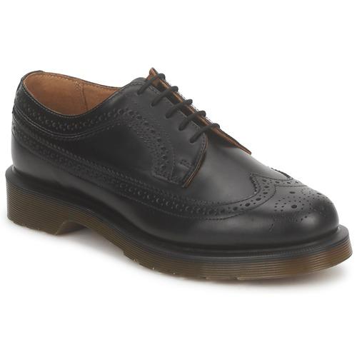 Boty Šněrovací polobotky  Dr Martens 3989 Černá