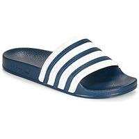Boty pantofle adidas Originals ADILETTE Modrá / Bílá