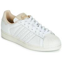 Boty Nízké tenisky adidas Originals SUPERSTAR Bílá / Béžová