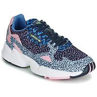 Boty Ženy Nízké tenisky adidas Originals FALCON W Modrá / Růžová