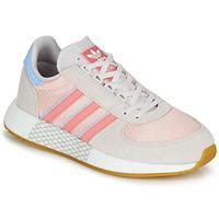 Boty Ženy Nízké tenisky adidas Originals MARATHON TECH W Šedá / Růžová